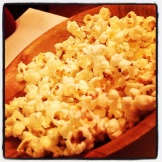 Bacon Fat Popcorn at Brookville Restaurant.