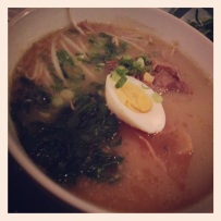 Tonkotsu Ramen at Now and Zen.